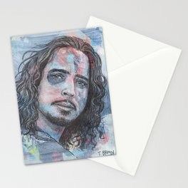 Chris Cornell - Nearly Forgot My Broken Heart Stationery Cards