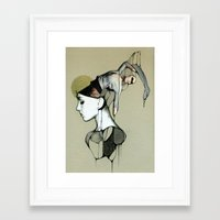 egypt Framed Art Prints featuring Egypt by Michal Tarka