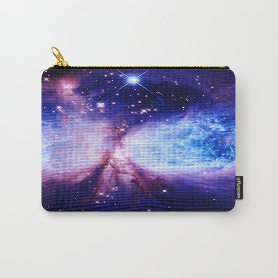 Galaxy : A Star is Born Blue Purple Carry-All Pouch