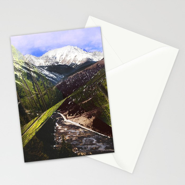 ASPEN DIAMONDS Stationery Cards