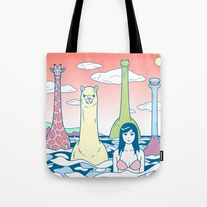 Animals & Sea Tote Bag