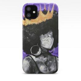 Naturally Queen II PURPLE iPhone Case