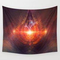lovecraft Wall Tapestries featuring ntyrstyllyr swwryn by Spires