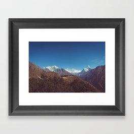 Mount Everest, Nepal Framed Art Print