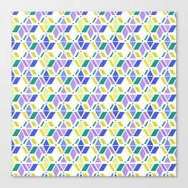 Fresh , retro , abstract , geometric Canvas Print