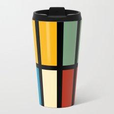 Abstract composition 23 Metal Travel Mug