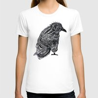 raven T-shirts featuring Raven by BIOWORKZ