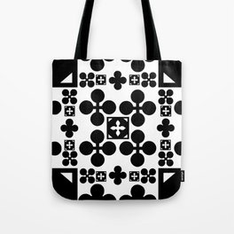 English half-timbered Tudor house pattern 2 Tote Bag