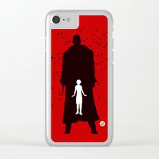 Candyman (Red Collection) Clear iPhone Case