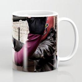 Harley Quinn Bridget & Red Hood Robfury Coffee Mug