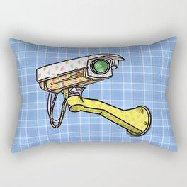 Security Camera Rectangular Pillow