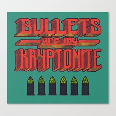 Kryptonite (alternate) Canvas Print
