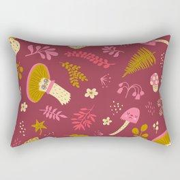 Fungi Friends Rectangular Pillow