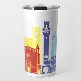 Siena skyline pop Travel Mug
