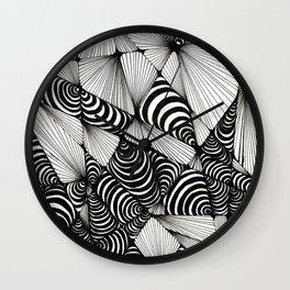 Optical Design Wall Clock