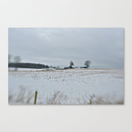 Stratford Winter Canvas Print