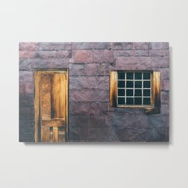 Tin Wall Metal Print