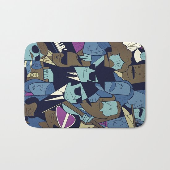 The Blues Brothers Bath Mat