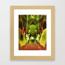 garden of delight Framed Art Print