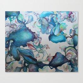 Bulberous Growth Canvas Print
