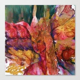 Fire Fairy by Kathy Morton Stanion Canvas Print