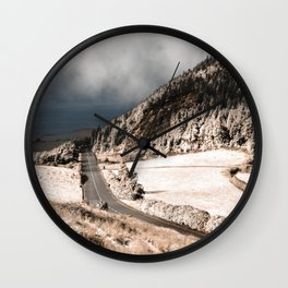 Tranquil landscape Wall Clock