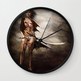last fight Wall Clock
