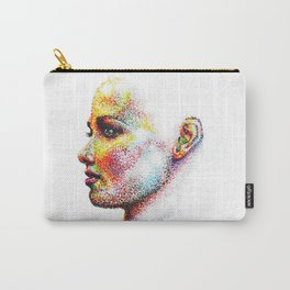 Head Pointed Out Carry-All Pouch