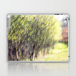 Abstract forest, intentionally blurred by camera shake Laptop & iPad Skin