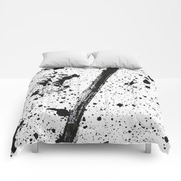 Whoops, Ink on white! Comforters