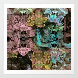 Surreal Floral Intricate Visionary Print Art Print