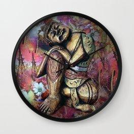 harmony and silence Wall Clock