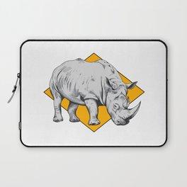 Rhino Yellow Laptop Sleeve
