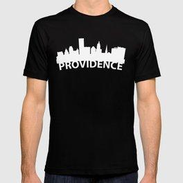 Curved Skyline Of Providence RI T-shirt