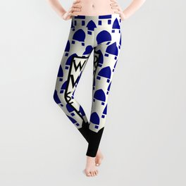 Wiener Werkstaette retro vintage artwork expo Leggings