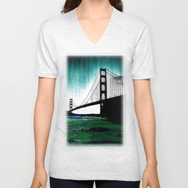 Blacken Gate-San Francisco Unisex V-Neck