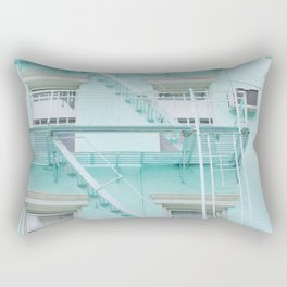 Blue in NYC Rectangular Pillow