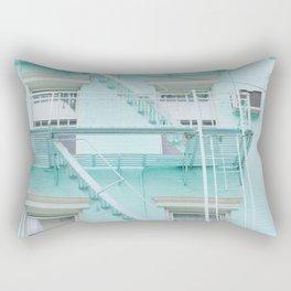 Blue in NYC Rectangular Pillow