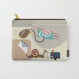 Swift Snail Mail Carry-All Pouch