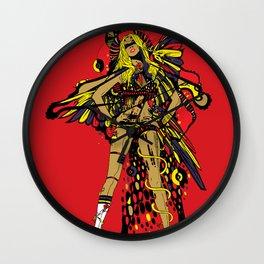 HATHOR ~ RED Wall Clock