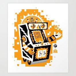 VideoBot Art Print