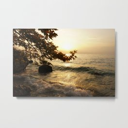 divine sunset Metal Print