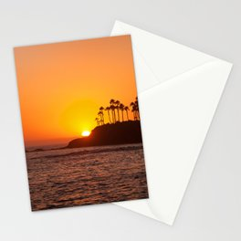 Laguna Beach Sunset Stationery Cards