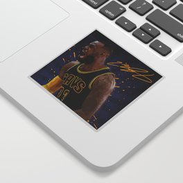 Lebron Sticker