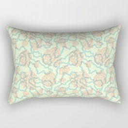 diamonds + chains Rectangular Pillow