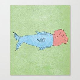 animal fake Canvas Print