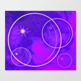 Bubble Madness two Canvas Print