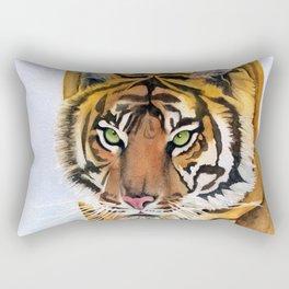 Walking Tiger Rectangular Pillow