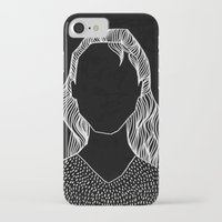 poker iPhone & iPod Cases featuring Poker Face by Laura Moreau