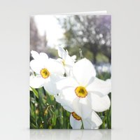 flora Stationery Cards featuring Flora by Kakel-photography